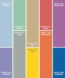 Key Spring Colours 2014