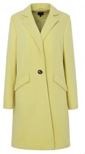 Coloured coat, winter warmers