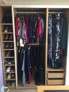 wardrobe clearout
